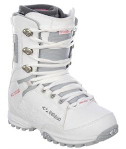 32 - Thirty Two Lashed Snowboard Boots White/Grey/Pink