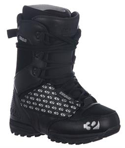 32 - Thirty Two Lashed Snowboard Boots Black/Silver