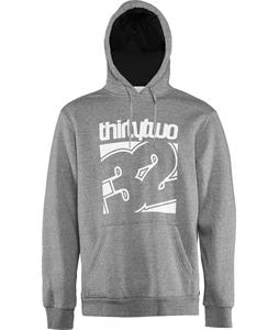 32 - Thirty Two Meld Pullover Hoodie Grey/Heather