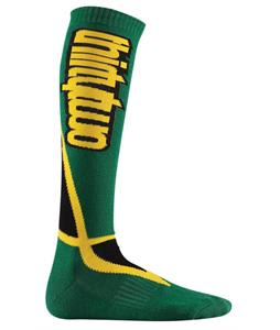 32 - Thirty Two Nations Socks Green/Gold