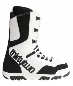 32 - Thirty Two Prion Snowboard Boots White/Black