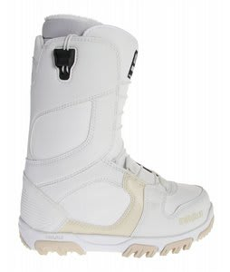 32 - Thirty Two Prion Fasttrack Snowboard Boots White/Tan