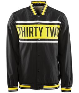 32 - Thirty Two Rebate Baseball Jacket Black