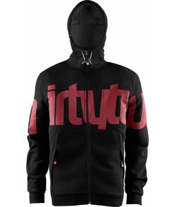 32 - Thirty Two Reppin Hoodie Black/Red
