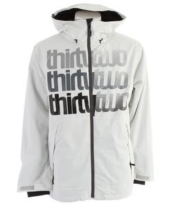 32 - Thirty Two Shakedown Snowboard Jacket Smoke