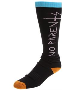 32 - Thirty Two Spring Break Socks Black