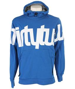 32 - Thirty Two Stamped Pullover Hoodie Enamel Blue