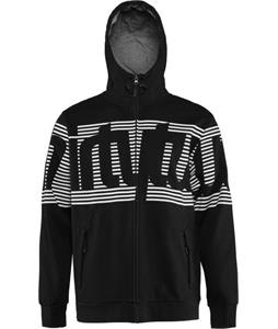 32 - Thirty Two Stamped Zip Hoodie Black