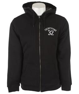 32 - Thirty Two Via Con Dios Hoodie Black