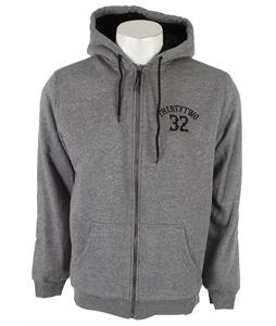 32 - Thirty Two Via Con Dios Hoodie Grey Heather