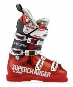 Nordica Blower Ski Boots Translucent Red