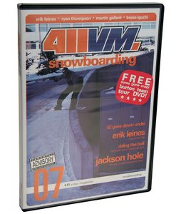 411 Volume 7 Snowboarding DVD
