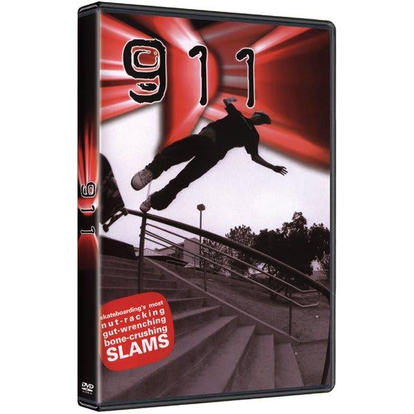 411 911 Slams Skateboard DVD