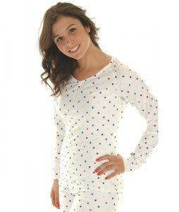 Burton Midweight V-Neck Thermal Multi Polka Squares