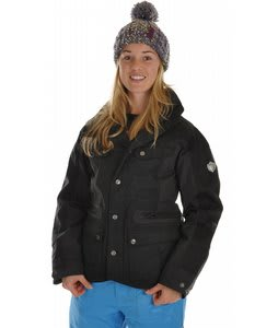 Burton B By Burton Windsor Snowboard Jacket True Black
