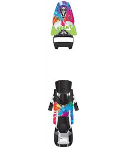 4FRNT Gr8ful Deadbolt 15 LTD Ski Bindings Tie Dye