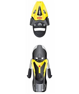 4FRNT Padlock 7 Ski Bindings Yellow