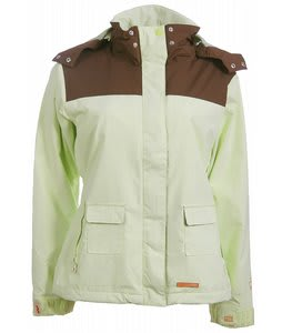Foursquare Heather Snowboard Jacket El Crisp
