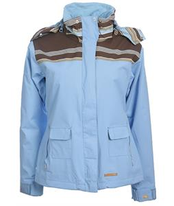 Foursquare Heather Snowboard Jacket Lt Blue