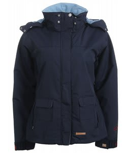Foursquare Heather Snowboard Jacket Midnight Squal