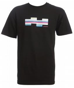 Foursquare Holiday Icon Polo T-Shirt Black