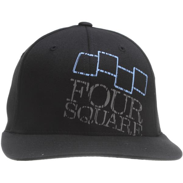 Foursquare Icon & Wordmark Hat