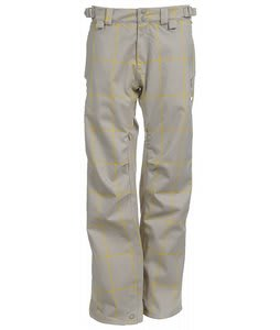 Foursquare Kim Snowboard Pants Sierra Madre Grid