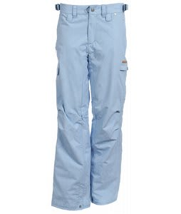 Foursquare Muller Snowboard Pants Lt Blue Trees
