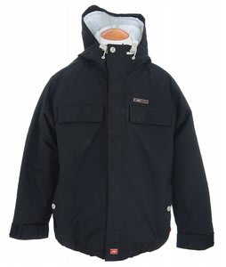 Foursquare Pers Snowboard Jacket Black