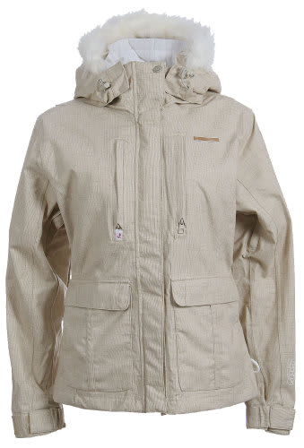 Foursquare Peterson Snowboard Jacket Sandstone Hatch