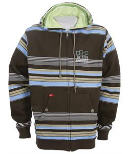 Foursquare Polo Stripe Hoodie Bear Rug Polo