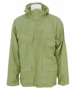 Foursquare Wright Snowboard Jacket Da Nile Logo Grid