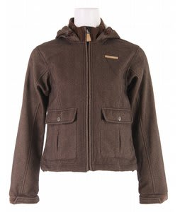 Foursquare Softshell Snowboard Jacket Lg Herringbone