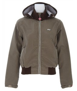 Foursquare Softshell Snowboard Jacket Tan Big Toof