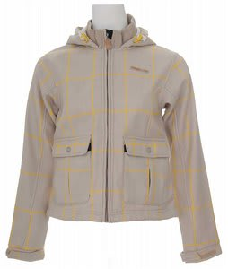 Foursquare Softshell Snowboard Jacket Sierra Madre Grid
