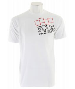 Foursquare Tree Knockout T-Shirt White