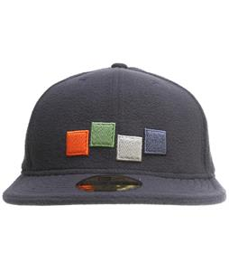 Foursquare 4 Color Hat Midnight Blue