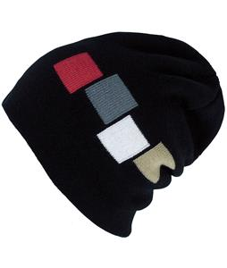 Foursquare 4 Color Icon Beanie Blackout