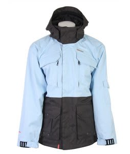 Foursquare Adams Snowboard Jacket Light Blue Heather