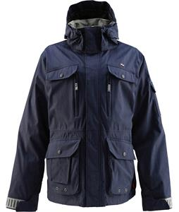 Foursquare Adams Snowboard Jacket Midnight Blue