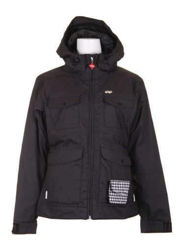 Foursquare Angela Snowboard Jacket Black