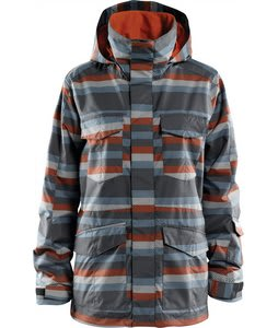 Foursquare Artisan Snowboard Jacket Nail Digitalized Stripe