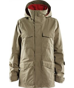 Foursquare Artisan Snowboard Jacket Walnut