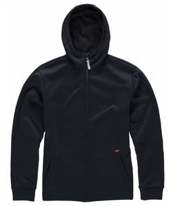 Foursquare Bonded Fullzip Fleece Blackout