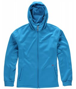 Foursquare Bonded Fullzip Fleece Bluebird