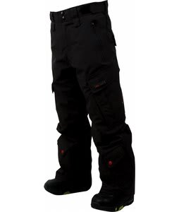 Foursquare Boss Snowboard Pants Black