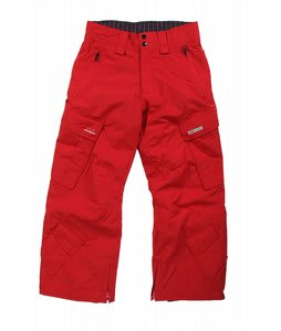 Foursquare Boss Snowboard Pants Crimson
