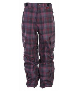 Foursquare Boswell Snowboard Pants Black Rip Pld