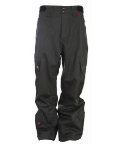 Foursquare Boswell Snowboard Pants Black Dress Sht