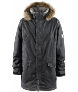 Foursquare Boundary Snowboard Jacket Blacktop